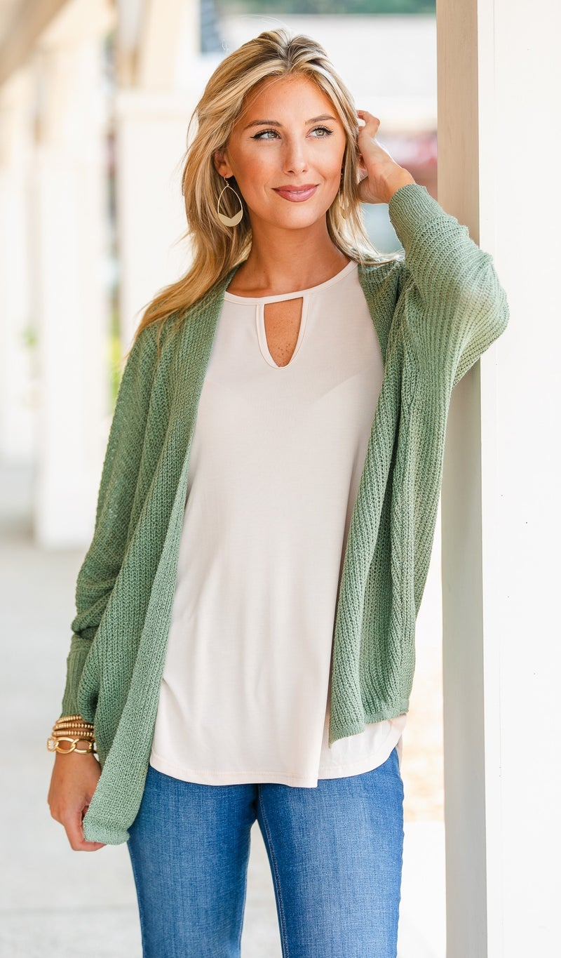 Cool Nights Knit Cardigan,