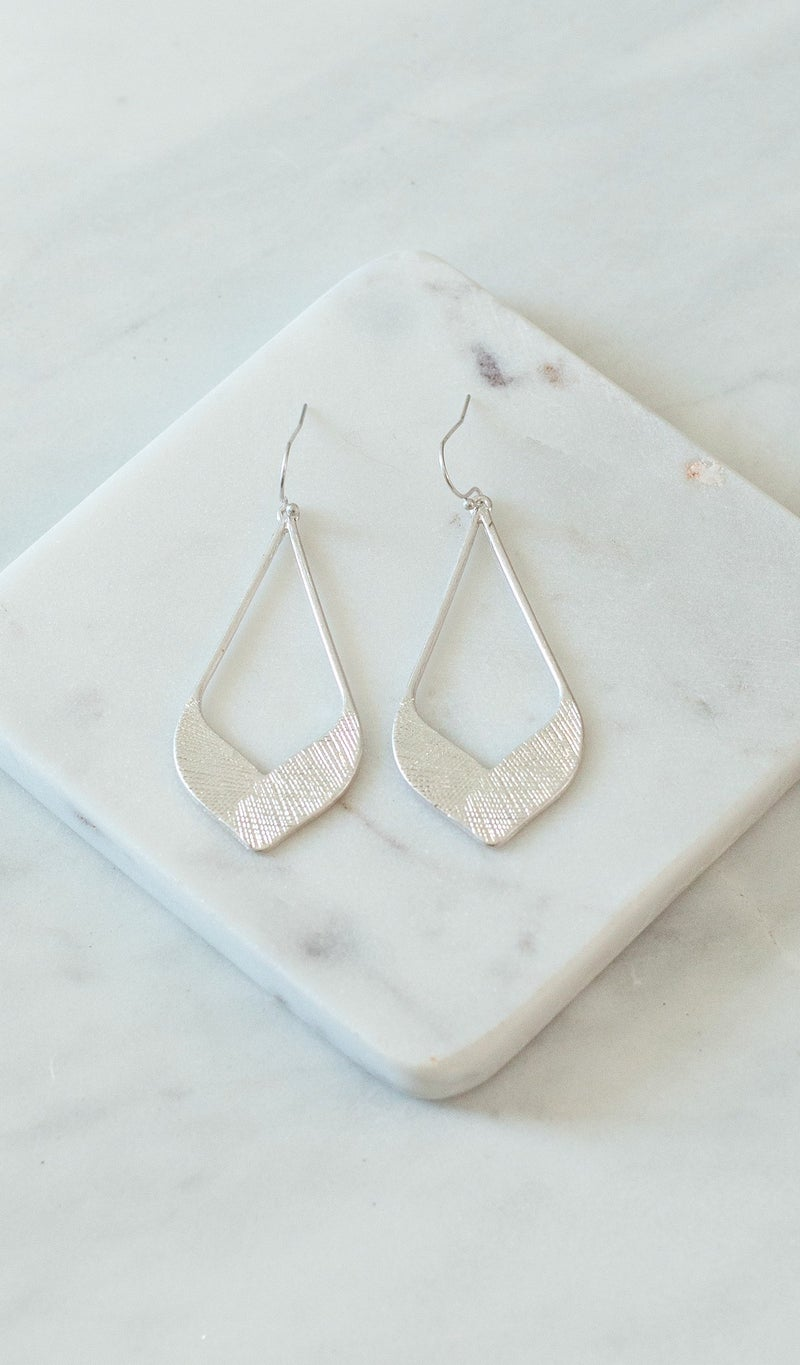 Class Act Earring, Gold or Silver