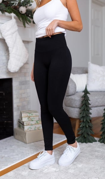 Cyber Monday BOGO- Fleece Lined Leggings Black +FREE Black Legging