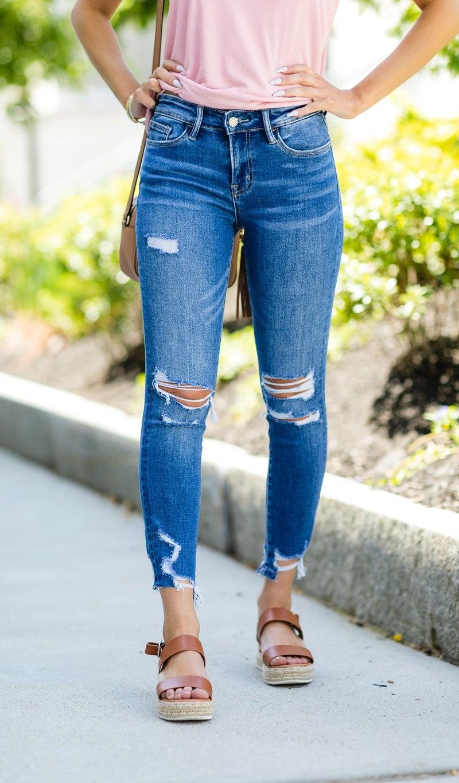 The Sky Jeans, Medium Wash
