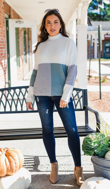 Seafoam Mist Sweater