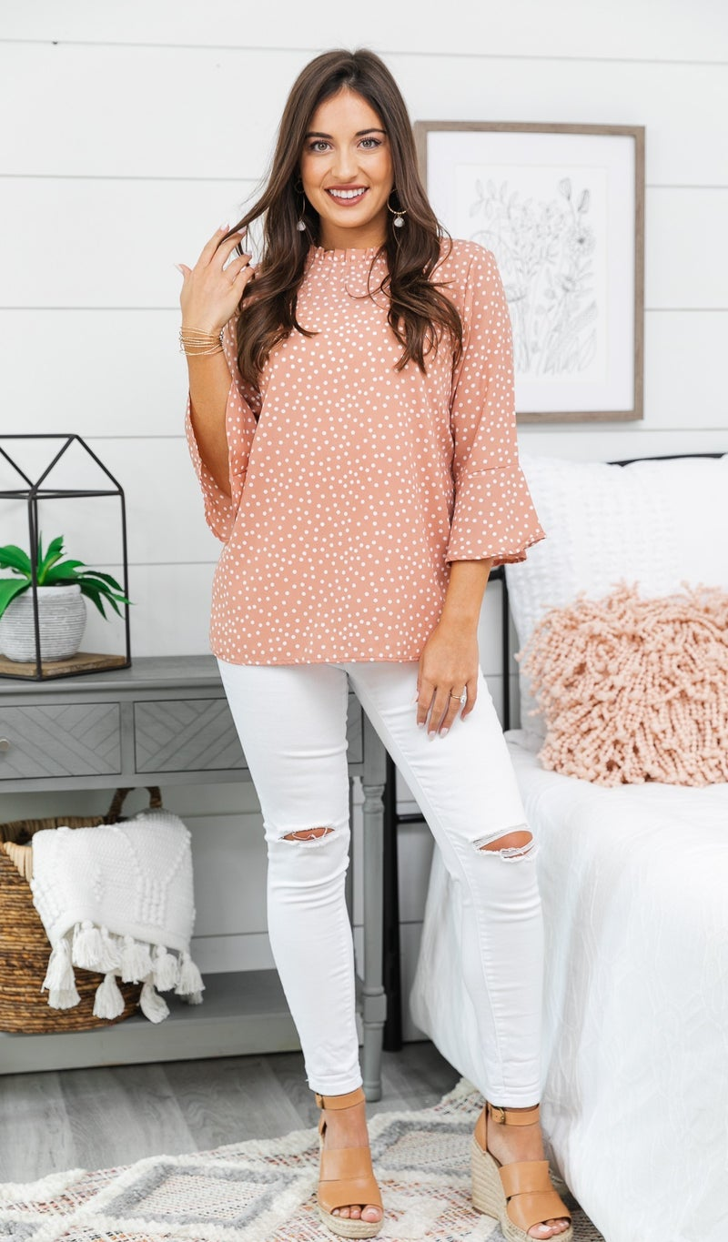A Second Look Top, Blush