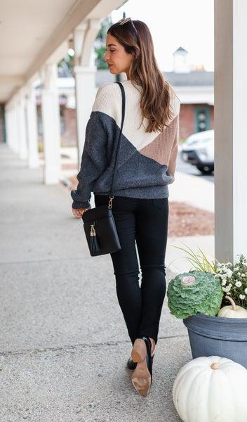 The Dakota Sweater, Charcoal