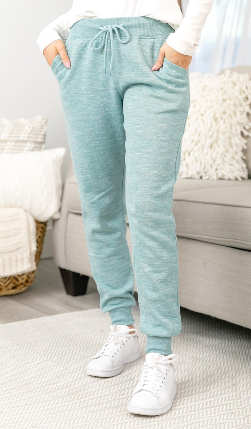 Easy Days Jogger, Slate, White or Teal
