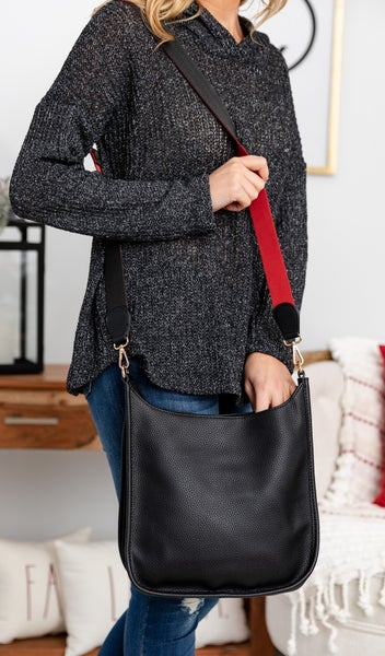 The Perfect Cross Body, Black, Navy, or Grey