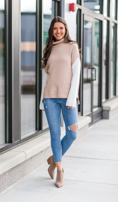 Feeling Cool Sweater, Multi