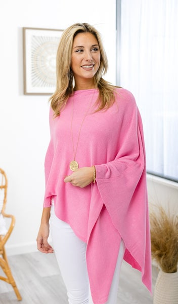 The Cora Poncho, Orchid