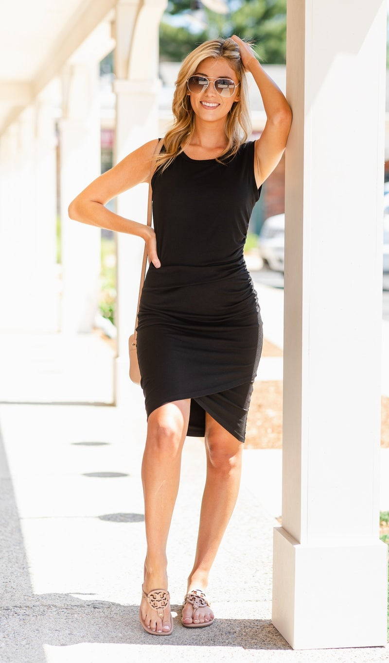 The Jena Dress, Black