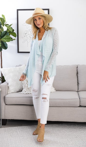 La Mer Knit BUNDLE, Light Blue