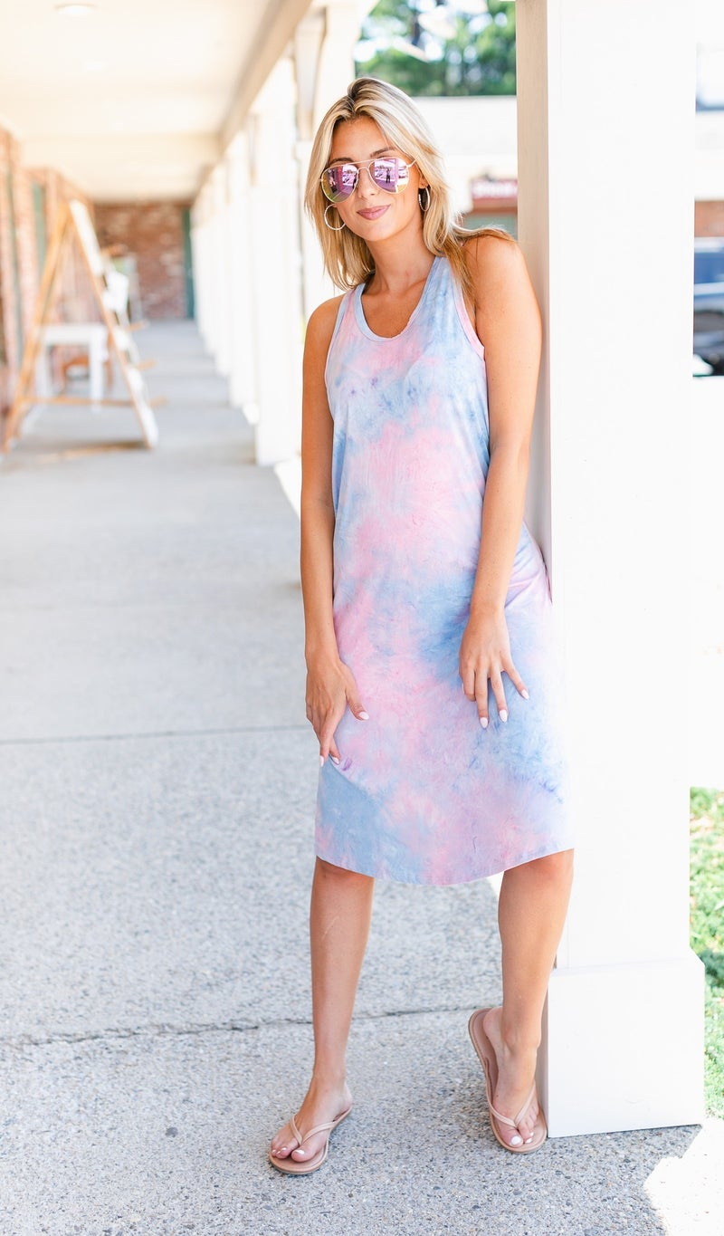 Favorite Oasis Dress, Tie Dye