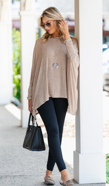 Just For You Tunic, Olive or Camel