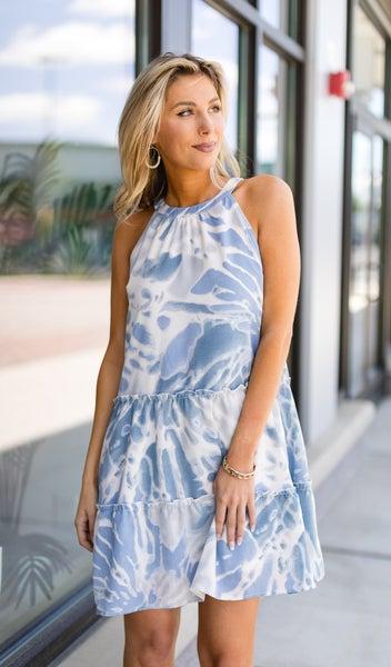 Fresh Air Dress, Blue