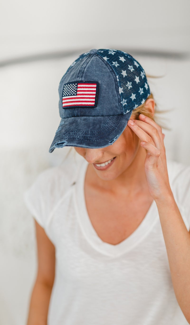 In The Spirit Hat, Flag or USA