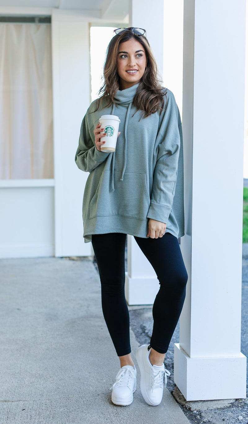 Here & Now Tunic, Sage