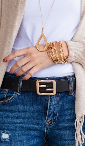 The One You Need Belt, Black