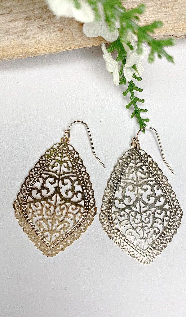 Francesca Earrings, Silver & Gold BUNDLE