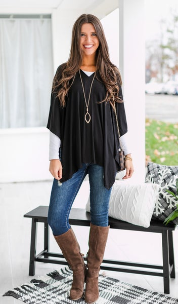 Call It Your Favorite Tunic, Black