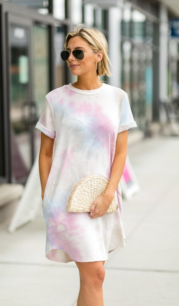 High Tide Dress, Tie-Dye