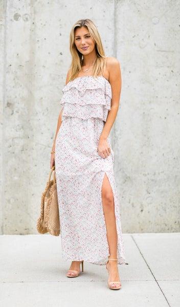 Summer Picnic Dress, Ivory