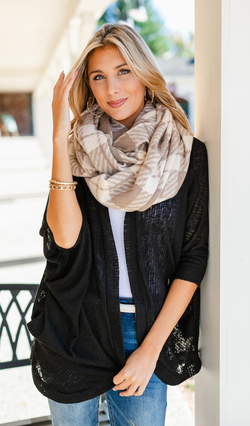 The Ava Scarf, Beige