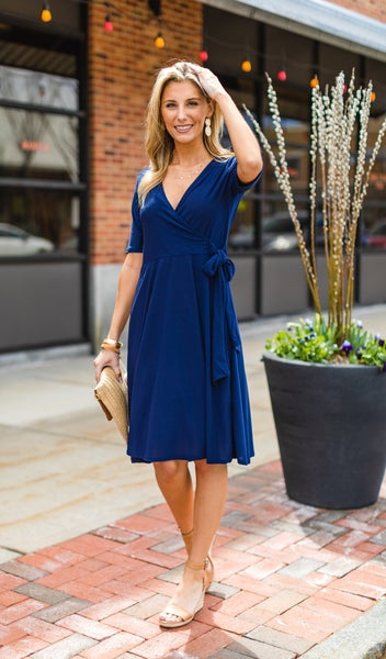 The Favorite Dress, Navy  New