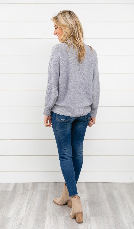 The Cala Sweater, Grey