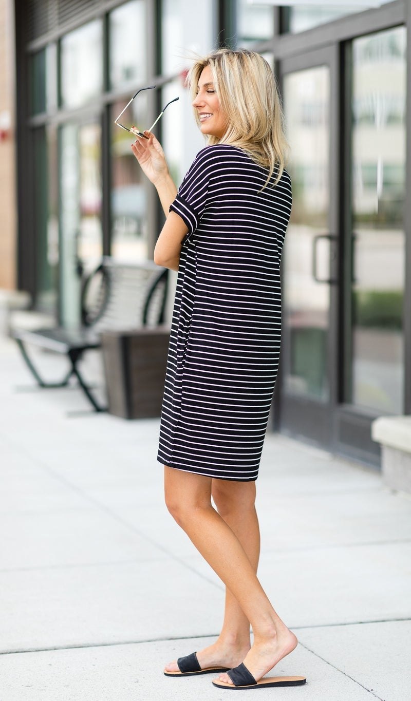My Kind of Style Dress, in Black