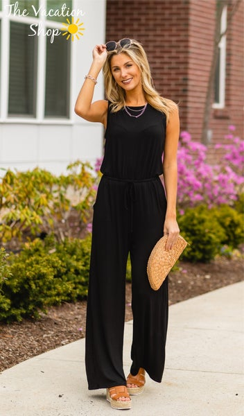 The Moody Jumpsuit in Black
