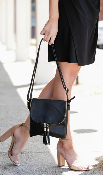 Into the Sunset Satchel, Black