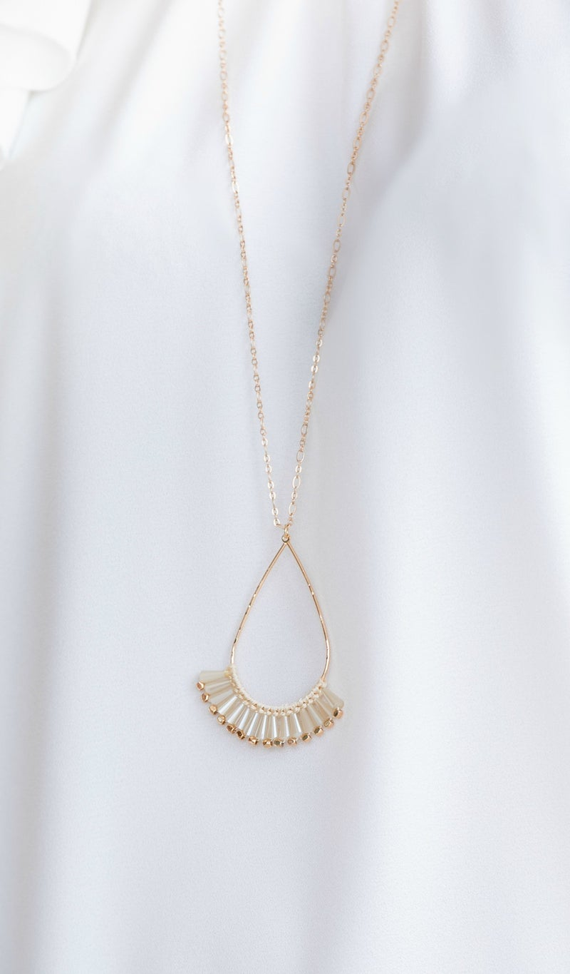 Summer Times Necklace, Gold