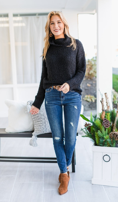 The Logan Sweater, Black