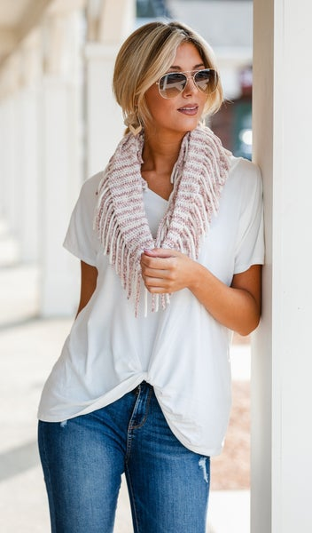 Soft As A Cloud Scarf, Pink, Black or Taupe
