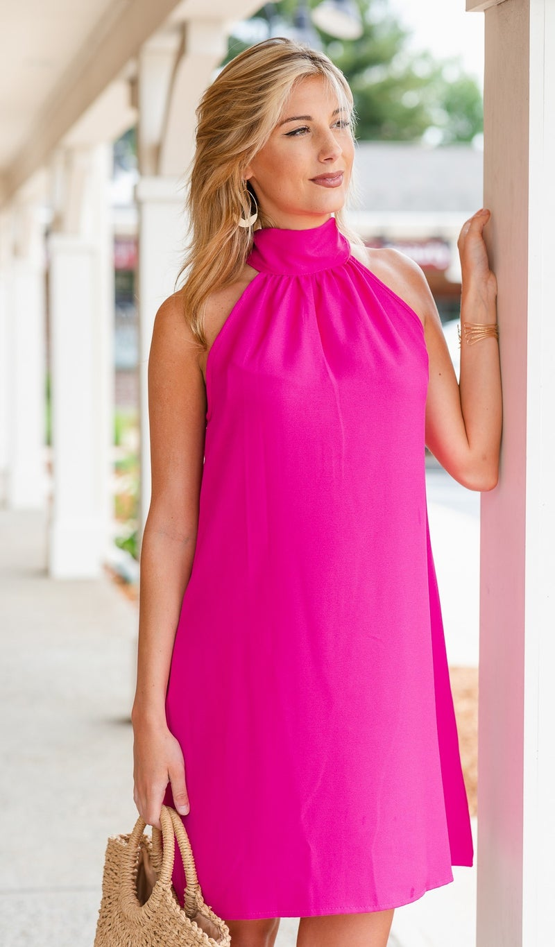 Dreaming of Chic Dress, Hot pink