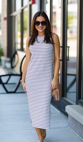 The Summer Signature Dress, Ivory