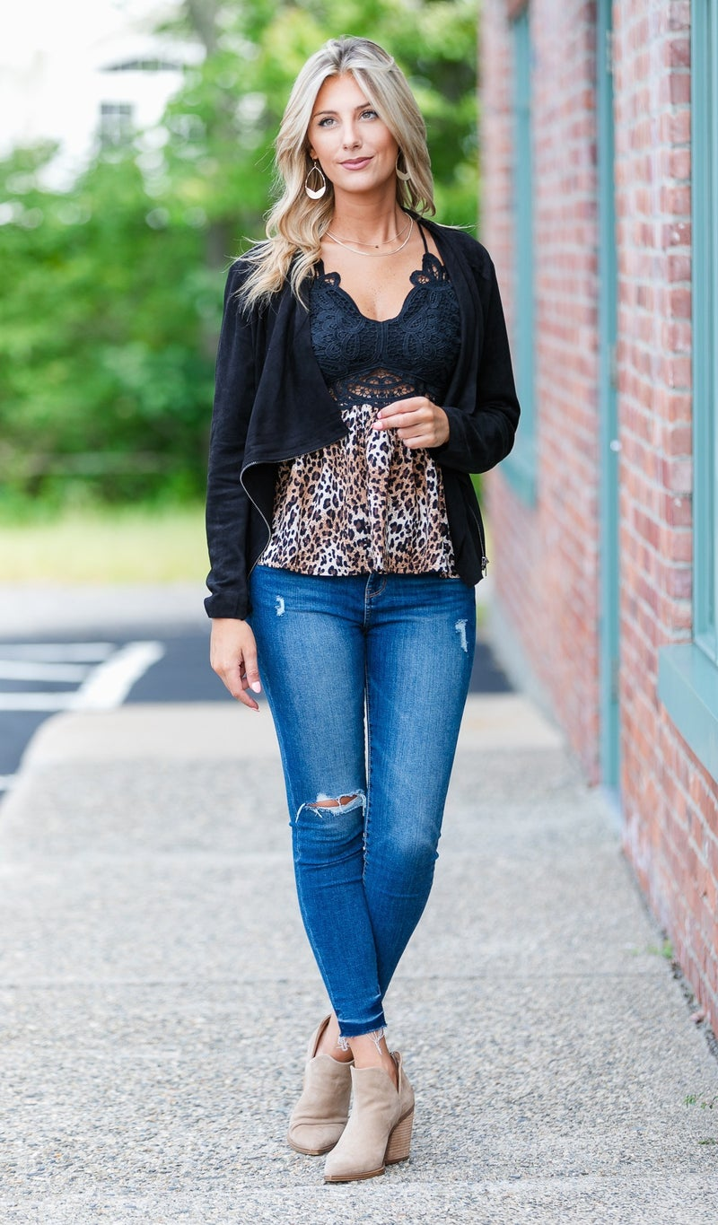 The Serenity Top, Black