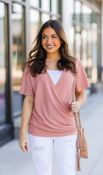 The Nicola Top,  Peach