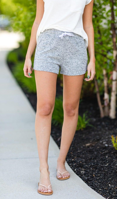 The Malibu Days Shorts, Navy Or Grey