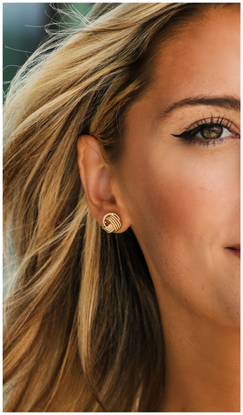 A Classic Staple Earring, Silver or Gold