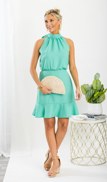 Your Lovely Day Dress, Mint