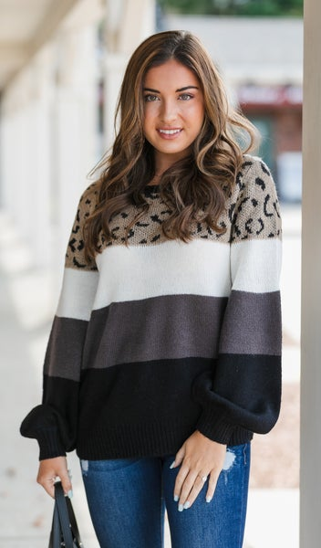The Savanna Sweater, Multi