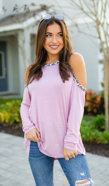Sweet and Sassy Top, Dusty Pink