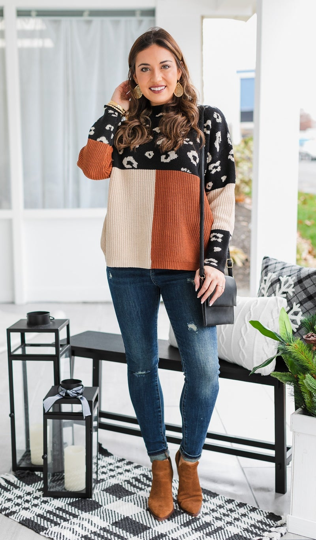 Next Generation Sweater, Mix Print