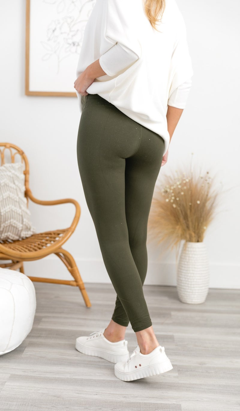 Self Love Legging, Olive