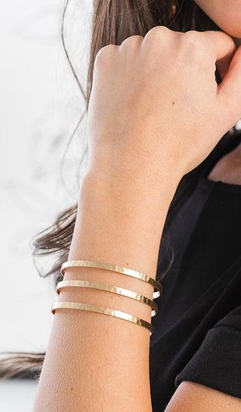 The Juliet Bracelet, Gold or Silver