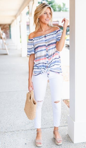 Lola Top, Stripe