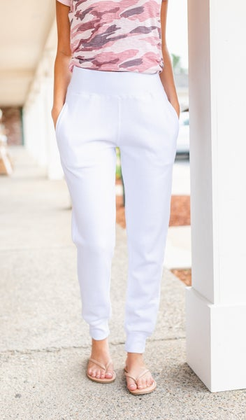 The Runway Jogger, White
