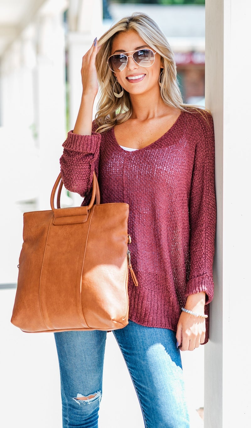 The Daydreamer Top, Marsala or Black