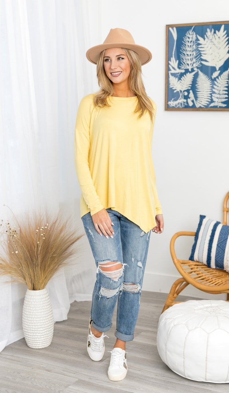 State of Mind Top, Slate or Yellow