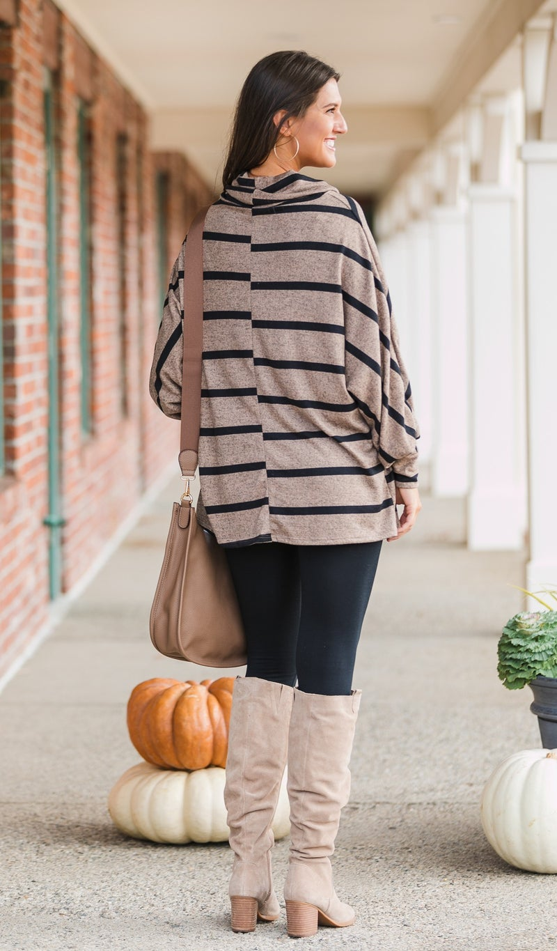 The Way Side Tunic, Taupe or Black