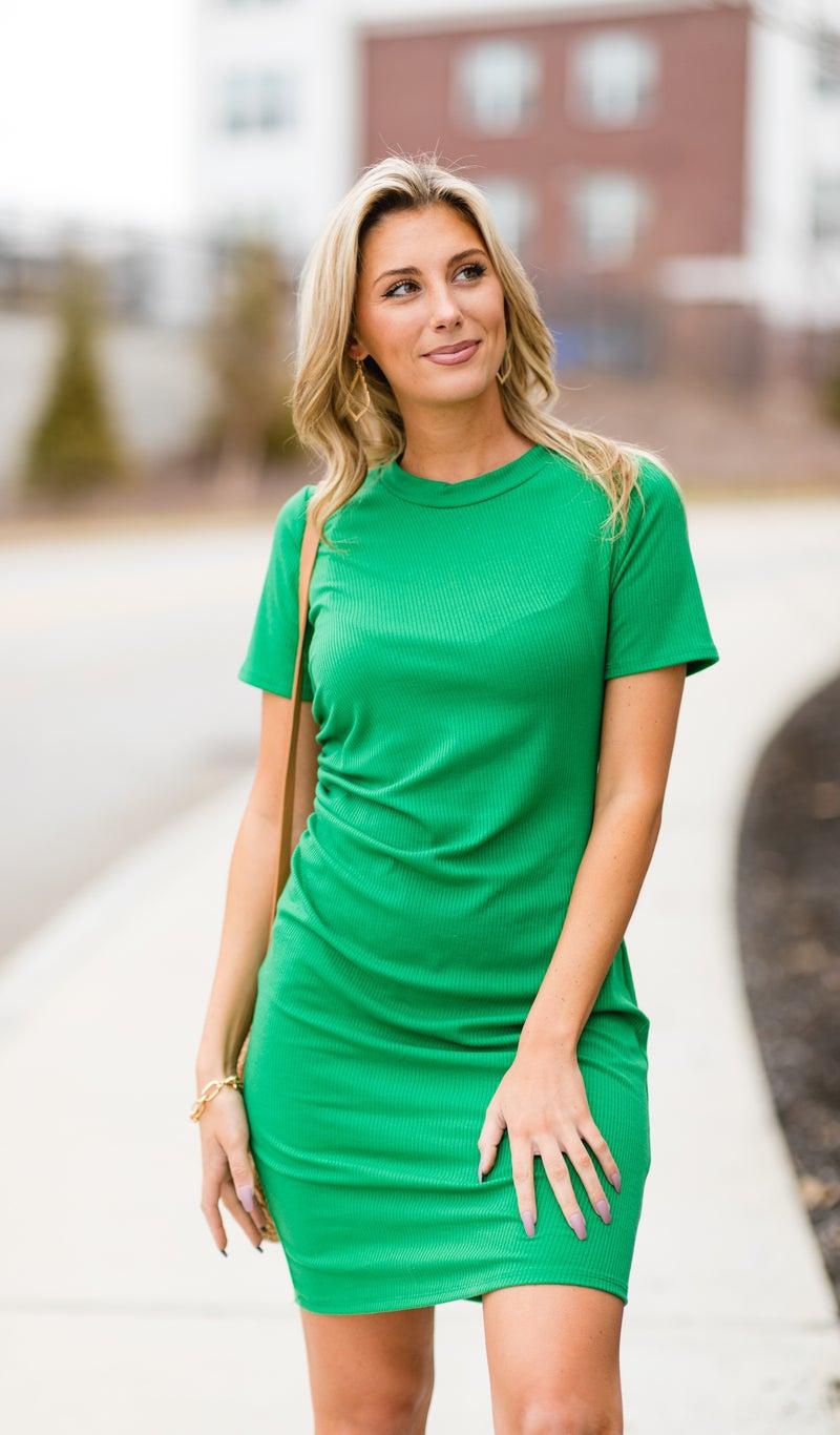 The Gardenia Dress, Kelly Green